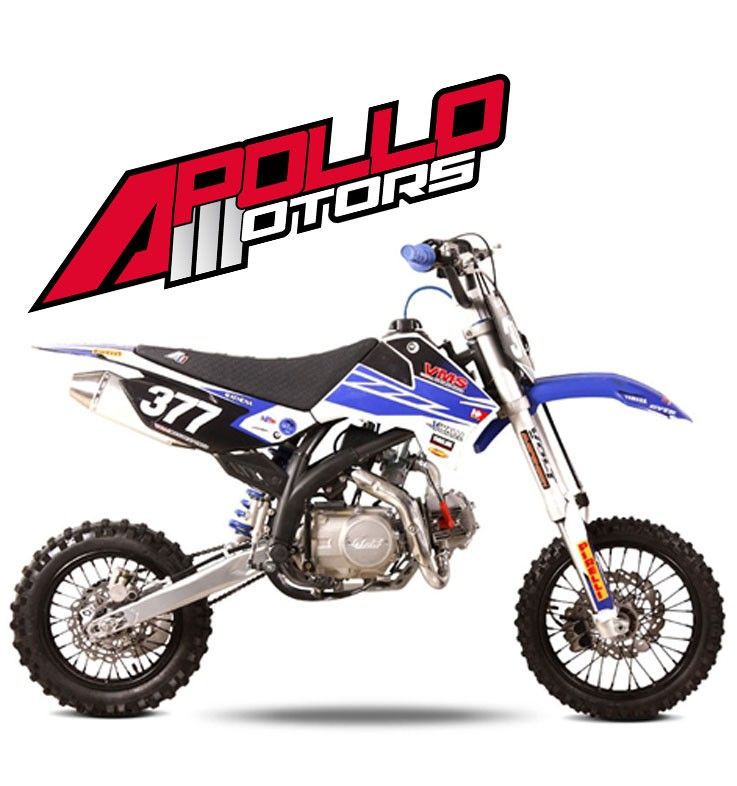 Pit Bike APOLLO RFZ OPEN 150 - POURCEL - Edition 2015