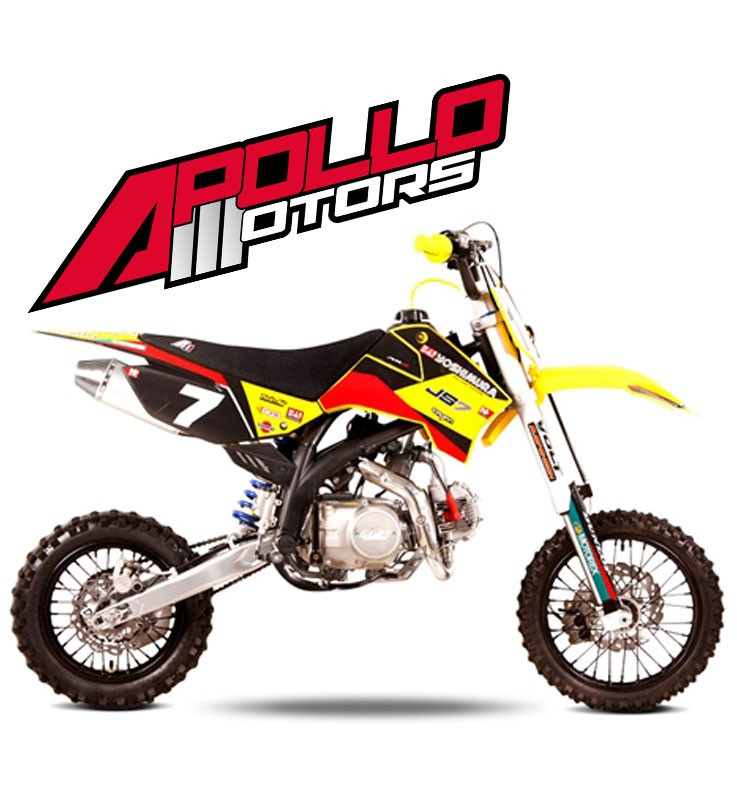 Pit Bike APOLLO RFZ OPEN 140 - JAMES STEWART - Edition 2015