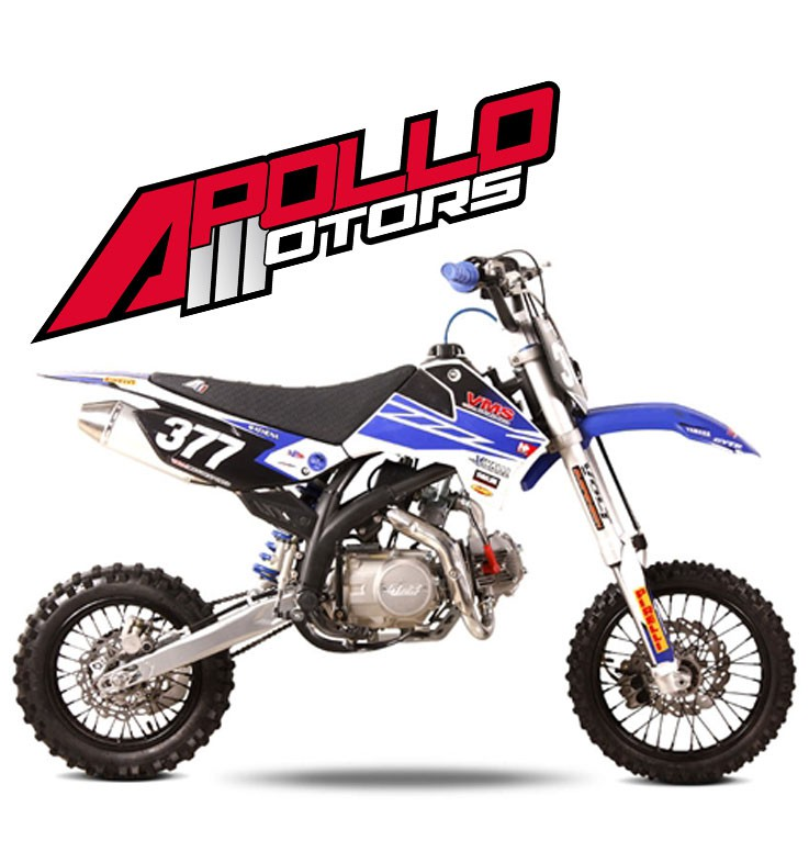 Pit Bike APOLLO RFZ OPEN 140 - POURCEL - Edition 2015