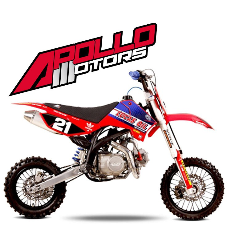 Pit Bike APOLLO RFZ OPEN 140 - COLE SEELY - Edition 2015