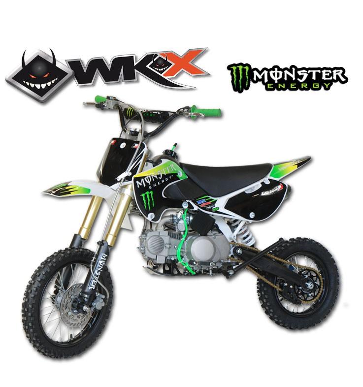 Pit Bike WKX 140 édition spéciale MONSTER - KLX