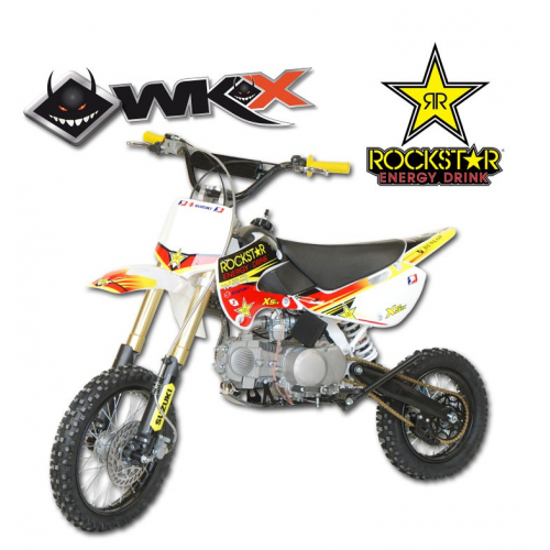 Piece Pit Bike WKX 140 édition spéciale ROCKSTAR - KLX de Pit Bike et Dirt Bike