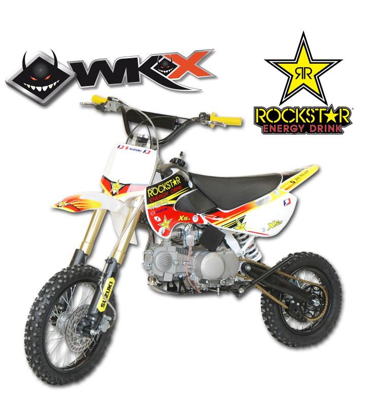 Pit Bike WKX 140 édition spéciale ROCKSTAR - KLX