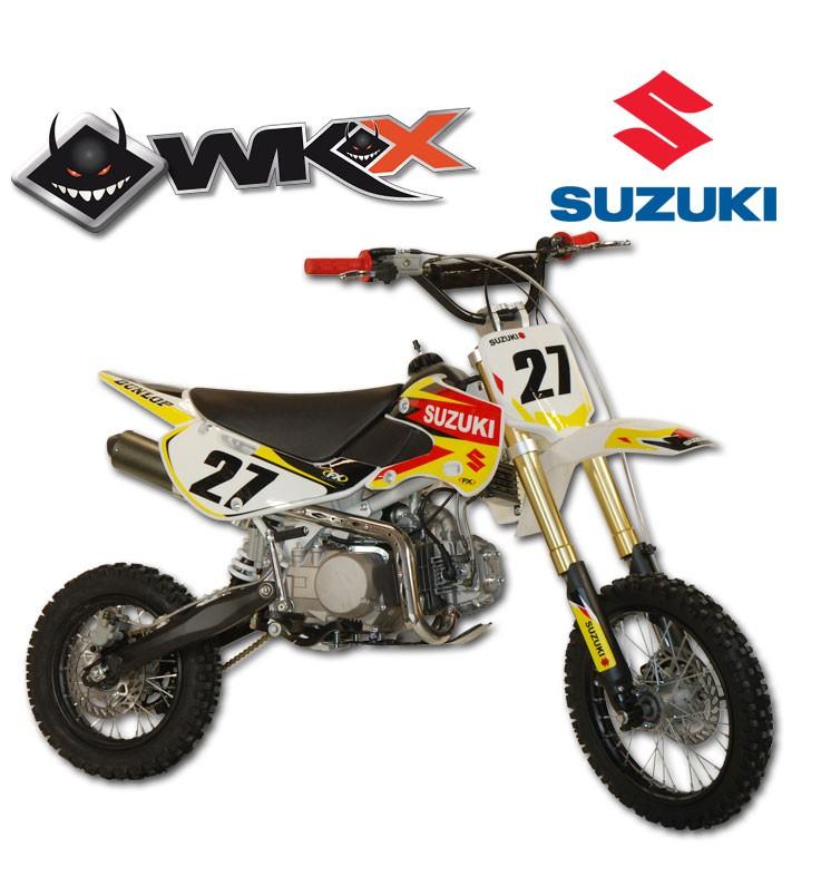 Pit Bike WKX 140 édition spéciale SUZUKI - KLX