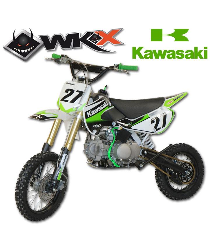 Pit Bike WKX 140 édition spéciale KAWAZAKI - KLX