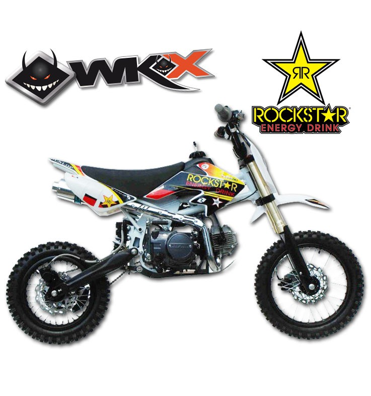 Pit Bike WKX 125 édition spéciale ROCKSTAR - CRF50