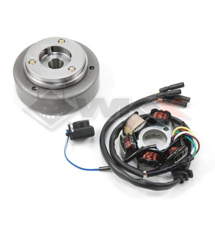 Allumage rotor + stator pour moteur démarreur électrique