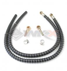 Piece Durite pour radiateur aluminium BP 10mm/10mm / la paire de Pit Bike et Dirt Bike