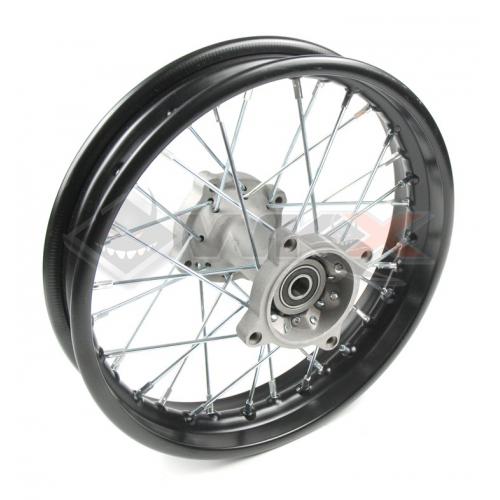Piece Jante arrière acier 10' axe 12mm de Pit Bike et Dirt Bike