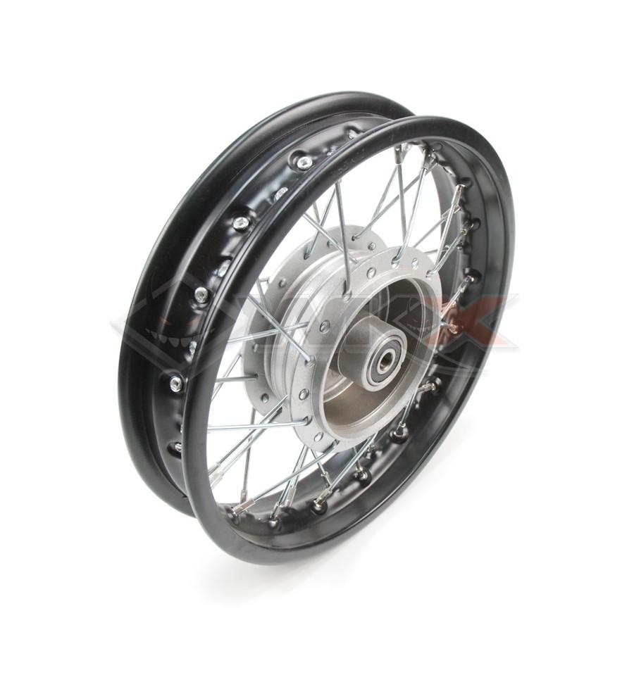 jante frein tambour 10 pouce arri re de mini moto et pit bike. Black Bedroom Furniture Sets. Home Design Ideas