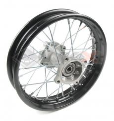 Piece Jante arrière acier 12' axe 12mm de Pit Bike et Dirt Bike