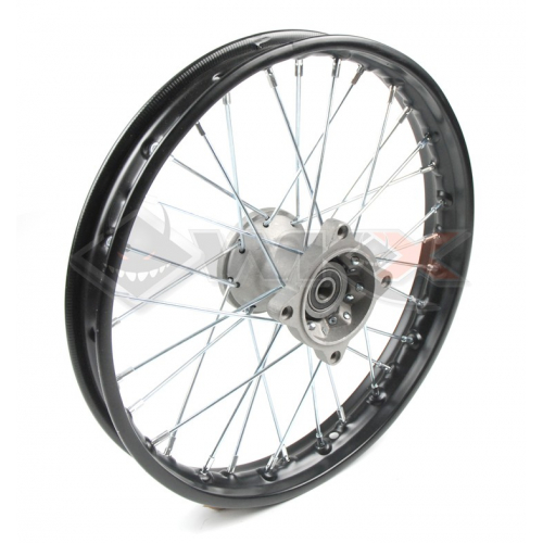 Piece Jante avant acier 17' axe 15mm de Pit Bike et Dirt Bike
