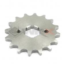 Piece Pignon de sortie de boite axe 17mm 14 dents 420 de Pit Bike et Dirt Bike