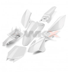 Piece Kit plastique YCF BLANC de Pit Bike et Dirt Bike