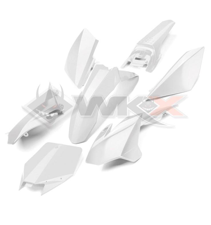 Kit plastique YCF BLANC