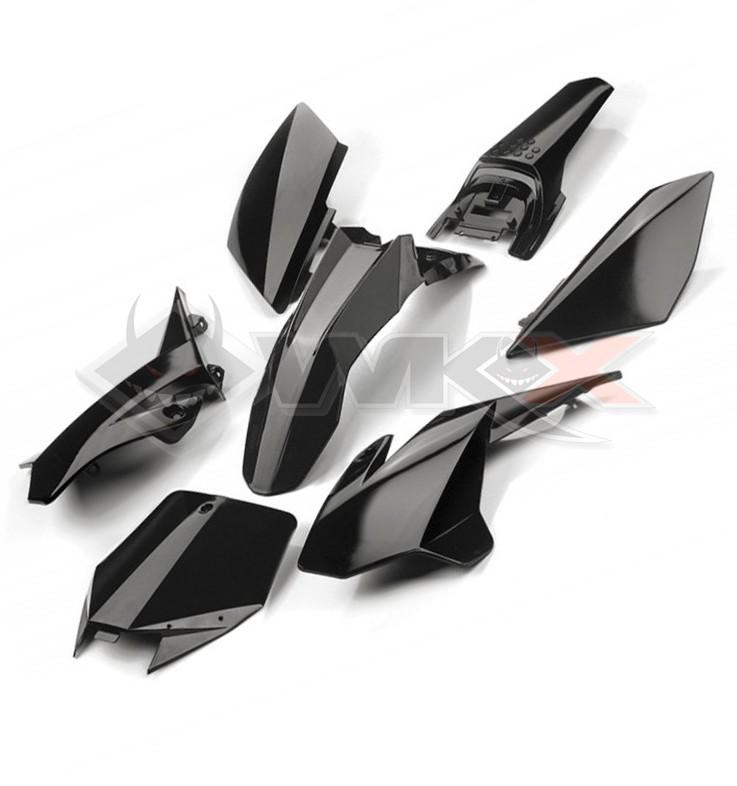 Kit plastique YCF NOIR