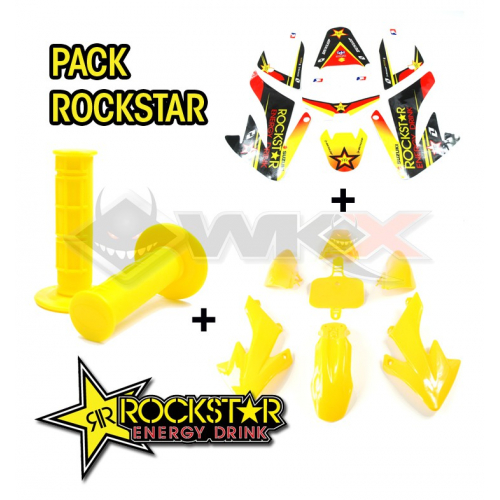 Piece Pack ROCKSTAR CRF 50 de Pit Bike et Dirt Bike