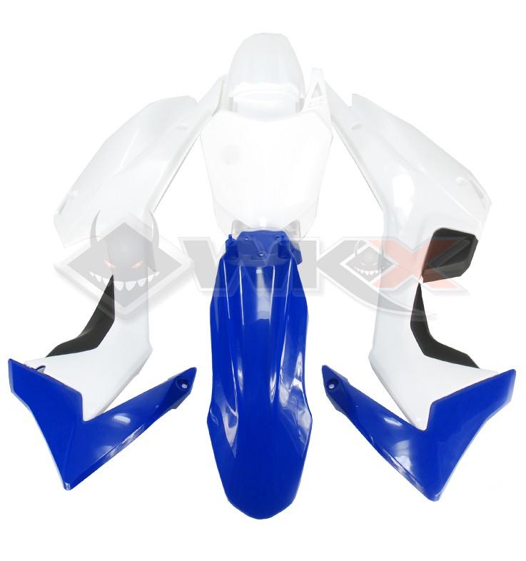 Kit plastique type CRF 110 BLEU