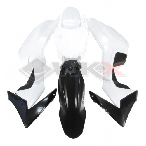 Piece Kit plastique CRF 110 NOIR de Pit Bike et Dirt Bike