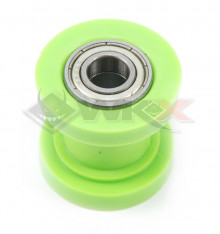 Piece Roulette de chaine 10mm VERT de Pit Bike et Dirt Bike