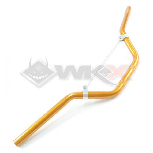 Piece Guidon aluminium ORANGE de Pit Bike et Dirt Bike