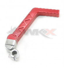 Piece Kick aluminium CNC 13mm ROUGE de Pit Bike et Dirt Bike
