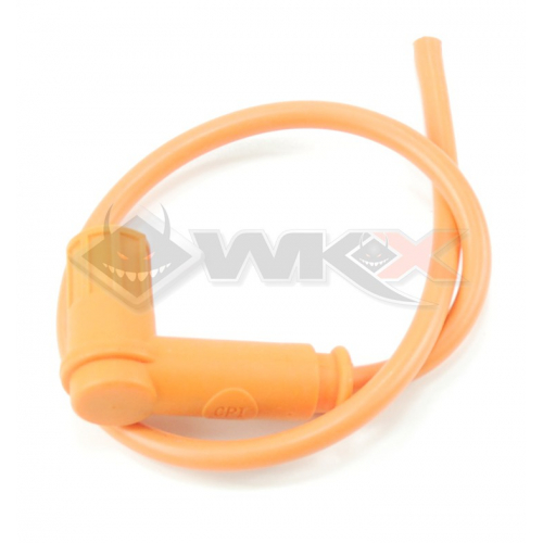 Piece Anti-parasites + cable blindéRacing ORANGE de Pit Bike et Dirt Bike