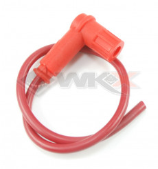 Piece Anti-parasites + cable blindéRacing ROUGE de Pit Bike et Dirt Bike