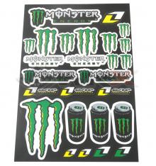 Piece Stickers autocollants MONSTER ENERGY de Pit Bike et Dirt Bike