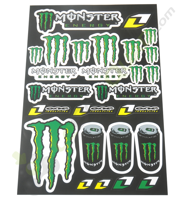 Stickers autocollants MONSTER ENERGY