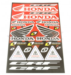 Piece Stickers autocollants HONDA de Pit Bike et Dirt Bike