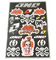 Piece Stickers autocollants ONE INDUSTRIES de Pit Bike et Dirt Bike