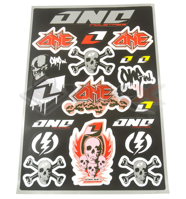 Stickers autocollants ONE INDUSTRIES