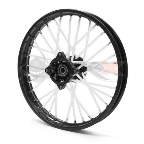 Piece Couvre rayon BLANC de Pit Bike et Dirt Bike