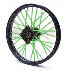 Piece Couvre Rayon VERT de Pit Bike et Dirt Bike