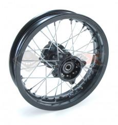 Piece Jante arrière acier supermotard 12X2,15 axe 15 mm de Pit Bike et Dirt Bike