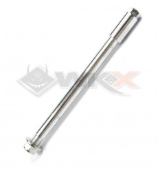 Piece Axe de roue avant 15mm longueur 220mm Marzocchi Staggs de Pit Bike et Dirt Bike