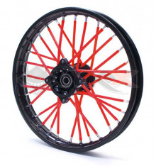 Piece Couvre Rayon ROUGE de Pit Bike et Dirt Bike