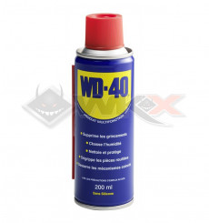 Piece Dégrippant WD 40 200ml de Pit Bike et Dirt Bike