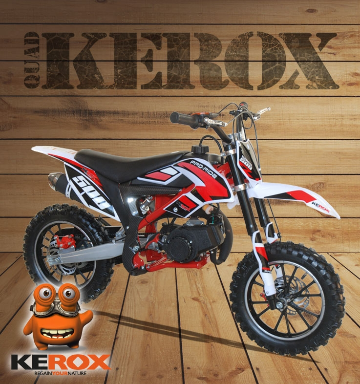 Pocket cross KEROX Mico 49cc ROUGE