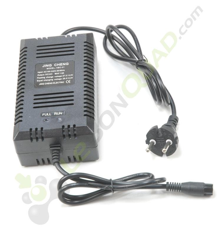 Chargeur de batterie 24V de pocket électrique