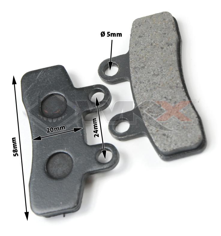 Plaquette de frein modèle 4