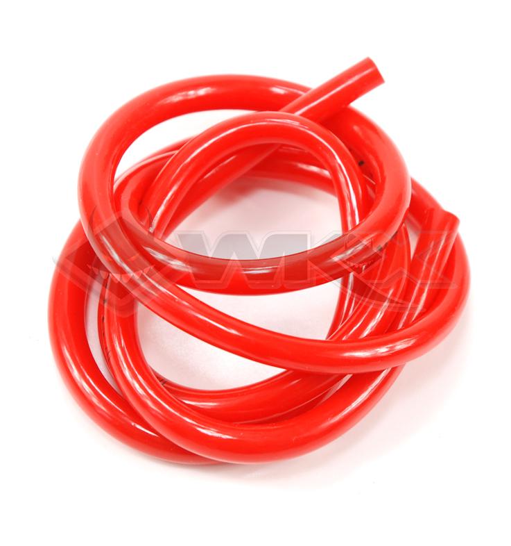 Durite d'essence 100 cm de couleur rouge