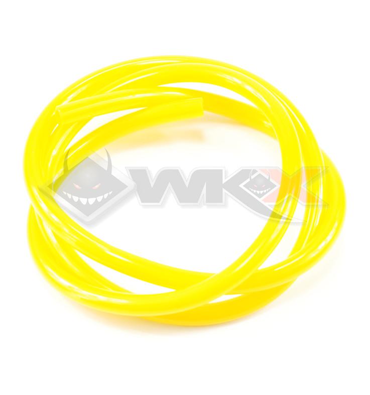 Durite d'essence de couleur jaune de 100 cm
