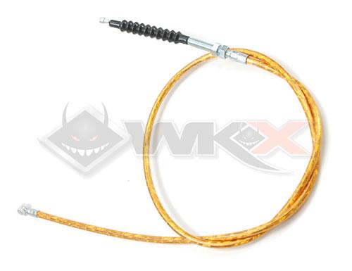 cable d'embrayage démmarage en prise orange pour pit bike, dirt bike et mini moto