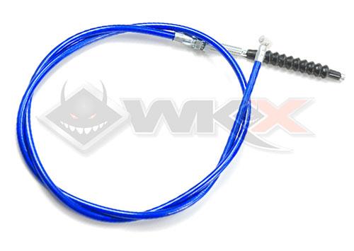 cable d'embrayage démmarage en prise bleu pour pit bike, dirt bike et mini moto