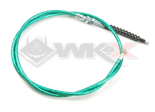 cable d'embrayage démmarage en prise vert pour pit bike, dirt bike et mini moto
