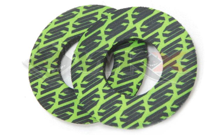 donuts scar vert pour pit bike, dirt bike et mini moto