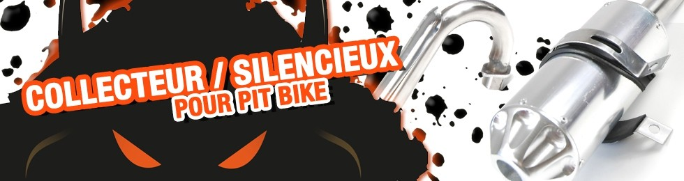 Piece Collecteur / Silencieux Pit Bike et Dirt Bike