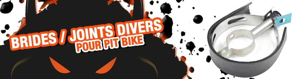 Piece Bride / Joint divers Pit Bike et Dirt Bike